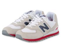 Sneaker ML574 - WEISS/ HELLGRAU