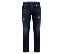 Destroyed-Jeans J688 Slim Fit