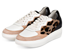 Sneaker - SCHWARZ/ NUDE/ WEISS