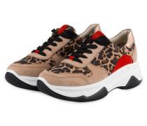 Sneaker - CAMEL/ SCHWARZ