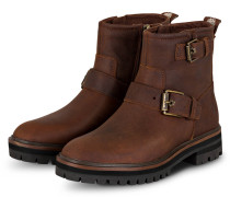 Biker Boots LONDON SQUARE - 2031 Mid Brown