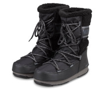 Moon Boots MONACO WOOL MID WP - SCHWARZ