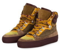 Hightop-Sneaker - BEIGE/ GELB/ OLIV
