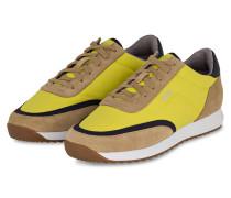 Sneaker SONIC RUNN - GELB/ BEIGE/ SCHWARZ