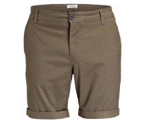Chino-Shorts PARIS Straight-Fit - khaki