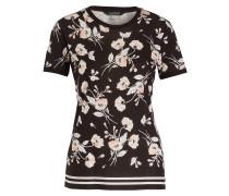 T-Shirt ZIEDRIK - schwarz/ offwhite/ rosa