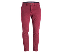Chino DENTON Straight-Fit - rot