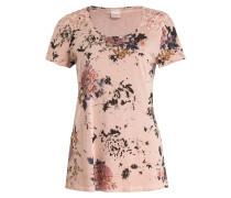 T-Shirt - rosé/ schwarz