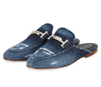 Mules - BLAU DENIM