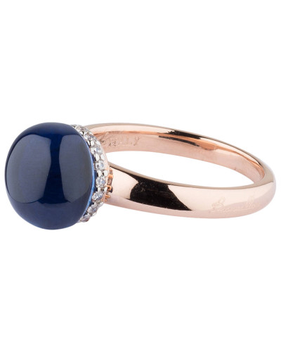 Ring PREZIOSA - roségold/ saphir