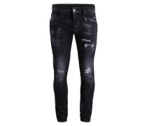 Destroyed-Jeans SKATER Tapered-Fit
