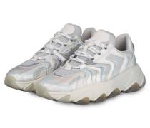 Plateau-Sneaker EXTREME - GRAU/ SILBER