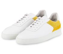 Sneaker MONO PLANE - WEISS/ GELB