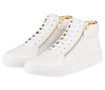 Hightop-Sneaker FUTURISM - WEISS