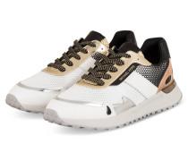 Sneaker MONROE - WEISS/ SCHWARZ/ GOLD