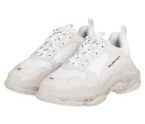 Sneaker TRIPLE S - WEISS/ CREME