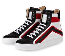 Hightop-Sneaker AMPTON - weiss/schwarz/rot
