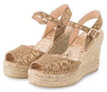 Wedges - BEIGE/ GOLD