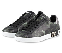 Sneaker PORTOFINO - SCHWARZ/ GRÜN