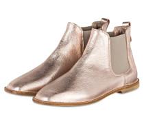 Chelsea-Boots - ROSÉ METALLIC