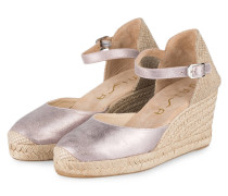 Wedges CACERES - LAVENDEL METALLIC