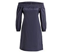 Off-Shoulder-Kleid CIDOLORES - dunkelblau