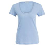 T-Shirt - hellblau meliert