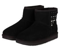 Fell-Boots CLASSIC MINI PEARLS - BLACK