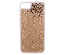 iPhone-Hülle GBUMPI 78V - gold metallic