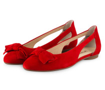 Cut-out-Ballerinas - ROT