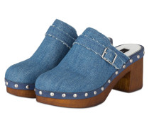 Clogs MICHIGAN AVENUE - BLAU