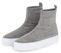 Hightop-Sneaker BIG SOCK - GRAU