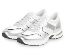 Sneaker SNACK - WEISS/ SILBER