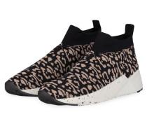 Slip-on-Sneaker - SCHWARZ/ BEIGE