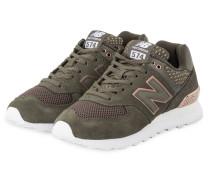 Sneaker WL574 - OLIV/ BRONZE
