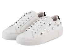 Sneaker - WEISS/ SCHWARZ/ SILBER