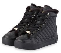 Plateau-Sneaker MERGE - SCHWARZ