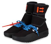 Hightop-Sneaker CST-001 - SCHWARZ