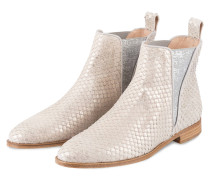Chelsea-Boots - SILBER