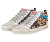Sneaker MID STAR - WEISS/ BRAUN
