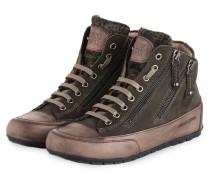 Hightop-Sneaker LUCIA - DUNKELGRÜN