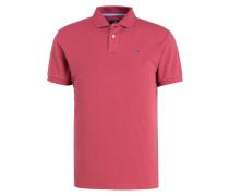 Piqué-Poloshirt Classic-Fit - koralle