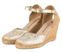 Wedges CARLA 23 - gold/ gelb