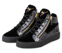 Hightop-Sneaker KRISS - SCHWARZ/ GRAU