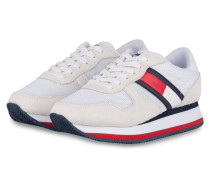 Plateau-Sneaker - WEISS