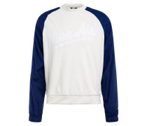 Sweatshirt AIR im Materialmix