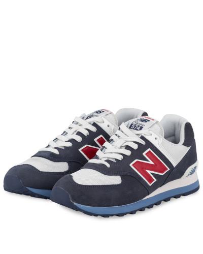 Sneaker ML574 - NAVY/ WEISS/ ROT