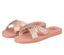 Sandalen CROSS TILE - ROSA METALLIC