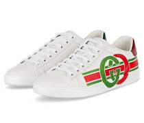 Sneaker ACE - BIANCO/ RED/ VERDE
