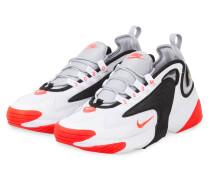 Sneaker ZOOM 2K - WEISS/ SCHWARZ/ ORANGE